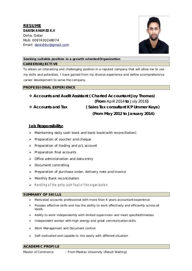 DANISH CV