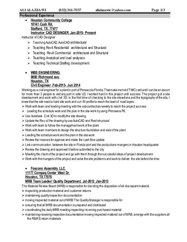 Resume of EngAli