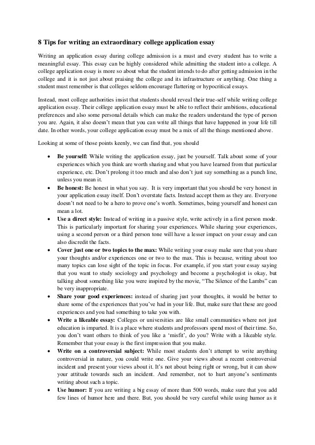 tips for writing good college application essays  College Essay Help is bibliography really
