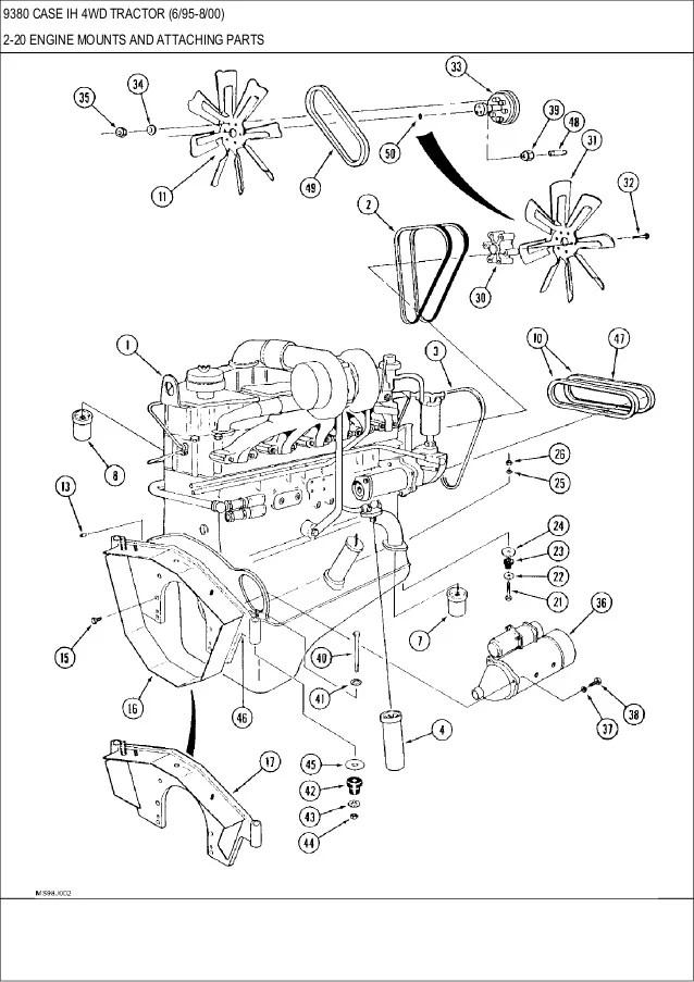 9380 Cih Tractor Wiring Diagram