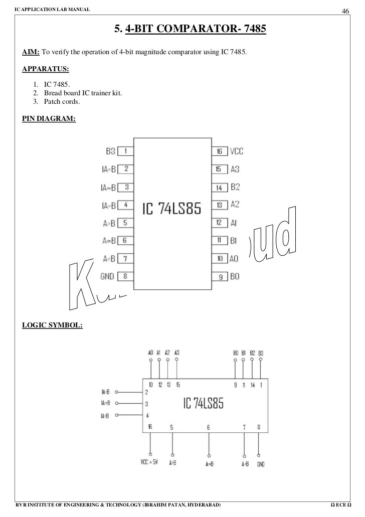 logic diagram of 8 to 1 line multiplexer cow eye labeled 98788885 ic-lab-maual
