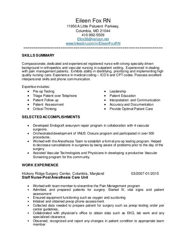 Pre Nursing Resume Resume Ideas