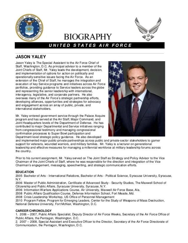 Jason Yaley Biography