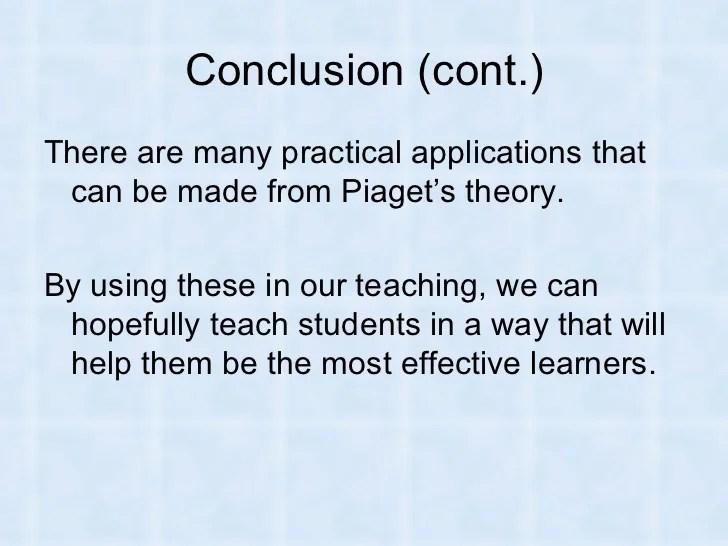 Piaget Essay Piaget S Cognitive Development Theory Jean Piaget Essay