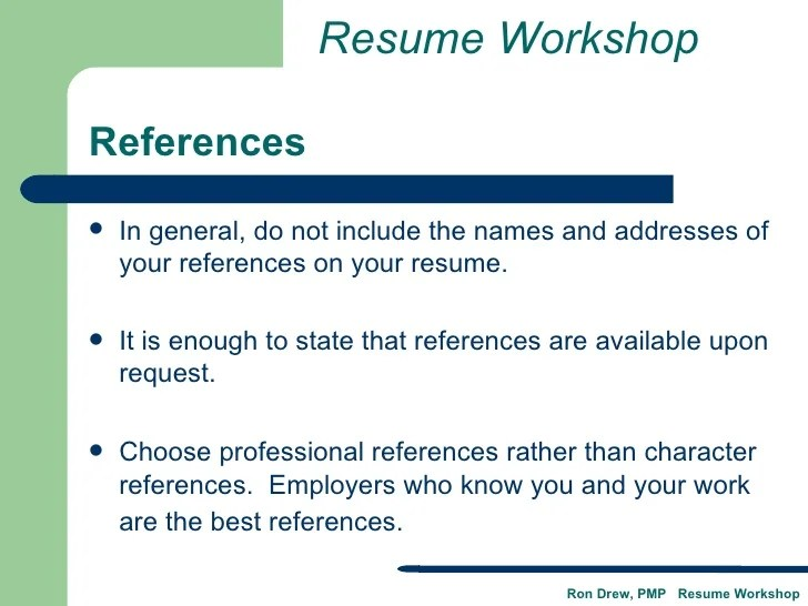 Does A Resume Include References Acworldcup Tk  Should A Resume Include References