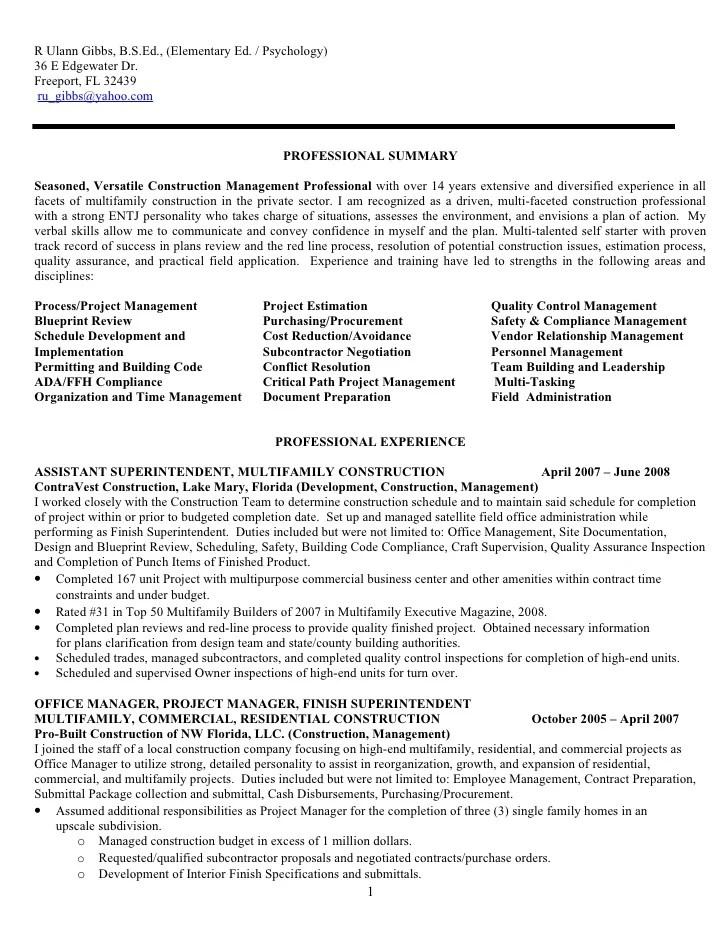 Construction Resume Examples Welder Functional Resume Sample