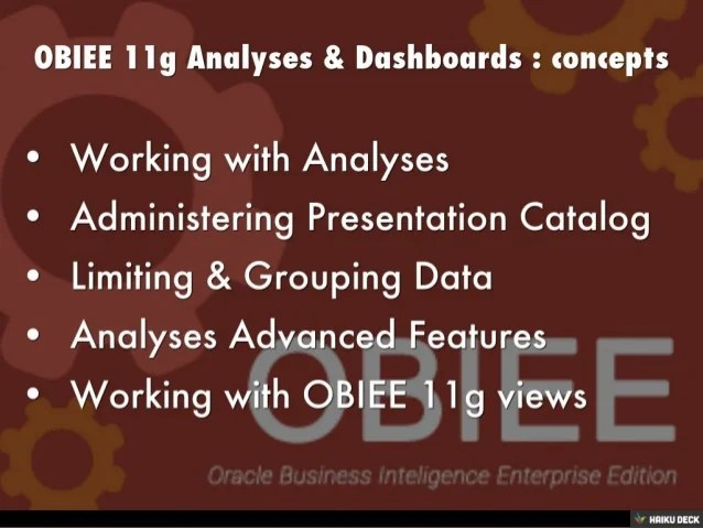 Obiee Oracle Certification - Modern Home Interior Design