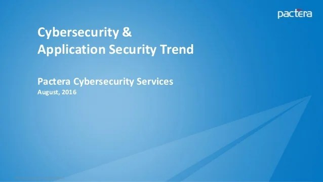 Cyber Security Applications