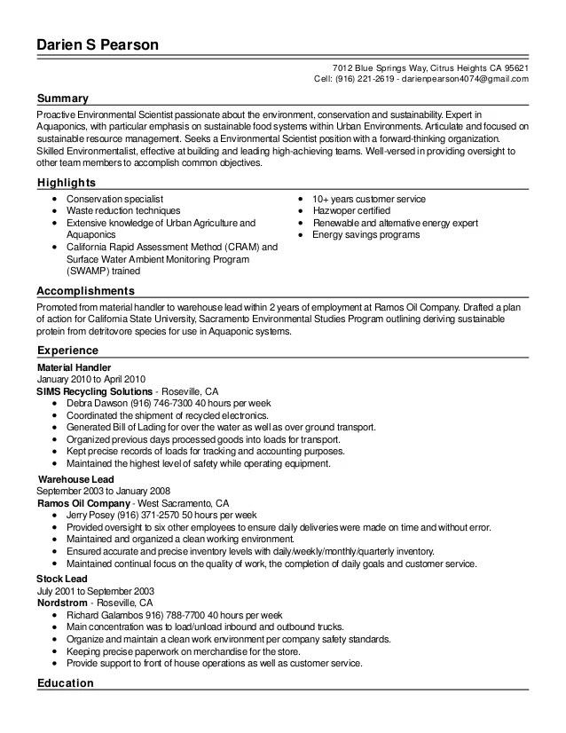 Resume  Live Career