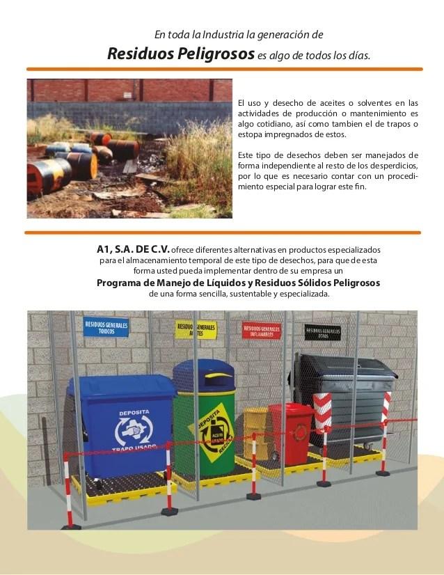 A1 Contenedores Residuos Peligrosos Industriales