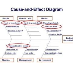 The Cause And Effect Diagram Hunter Ceiling Fan Wiring Switch People Material