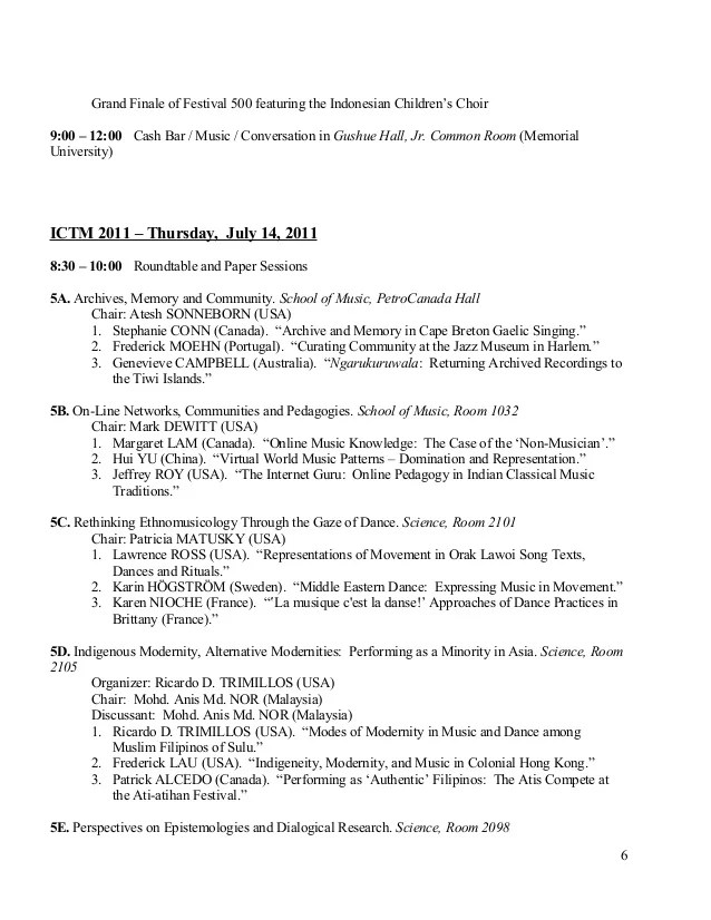 ICTM CONFERENCE PROGRAM FINAL MY PAPER PRESENTATION IN CANADA DOC