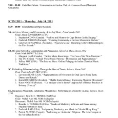 Chair Dance Ritual Song Flower Sash Ictm Conference Program Final My Paper Presentation In Canada Doc Gower Street 5 6