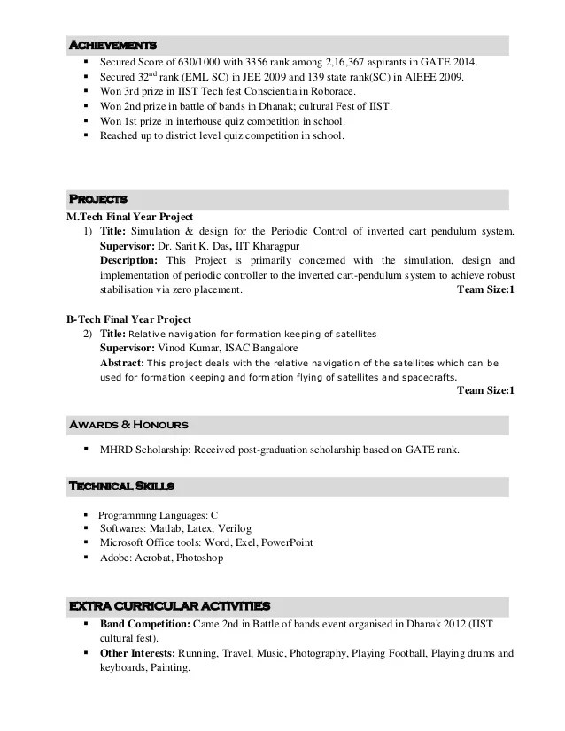 Ajit Resume 8 Nov - Resume Examples | Resume Template