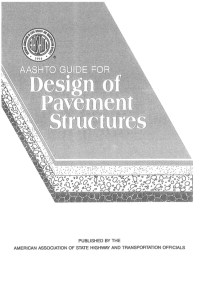 Aashto guide for design of pavement structures-93