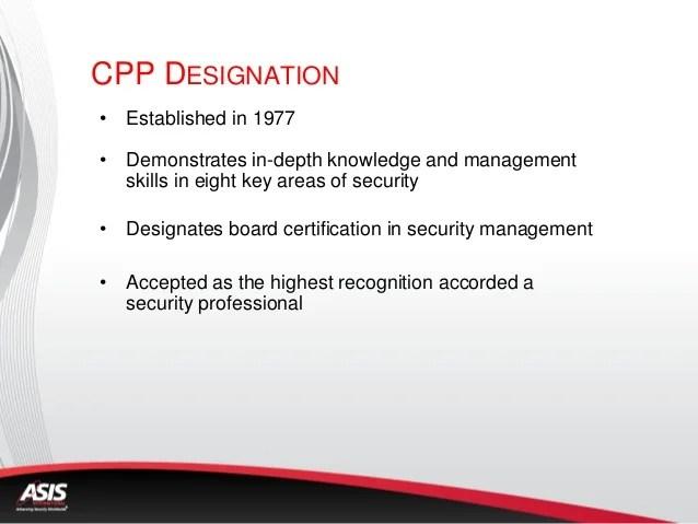 Asis Security Management