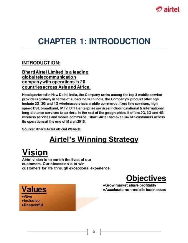 Corporate Social Responsibilty Of Bharti Airtel