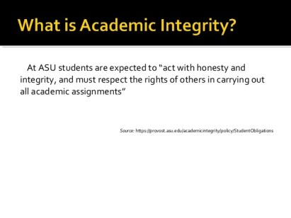 Image result for academic integrity asu