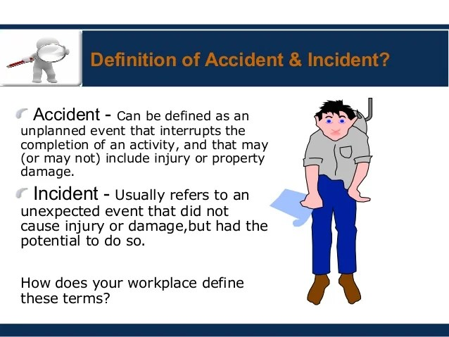 define incident report