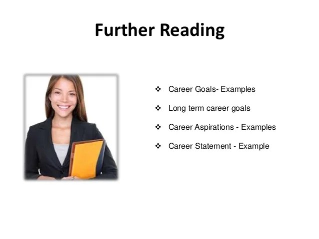 career aspirations and goals statement