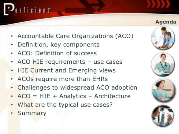 Aco Hie Analytics A Healthcare It Presentation