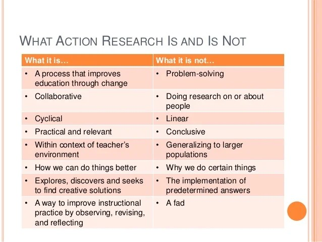 Sample Action Research Papers In Education Coursework Help