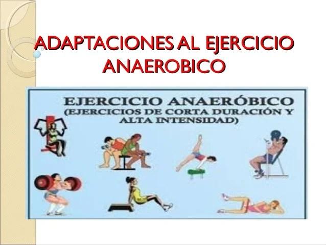 Resultado de imagen de ejercicio anaerobico