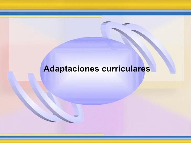 Adaptaciones Curriculares[1]