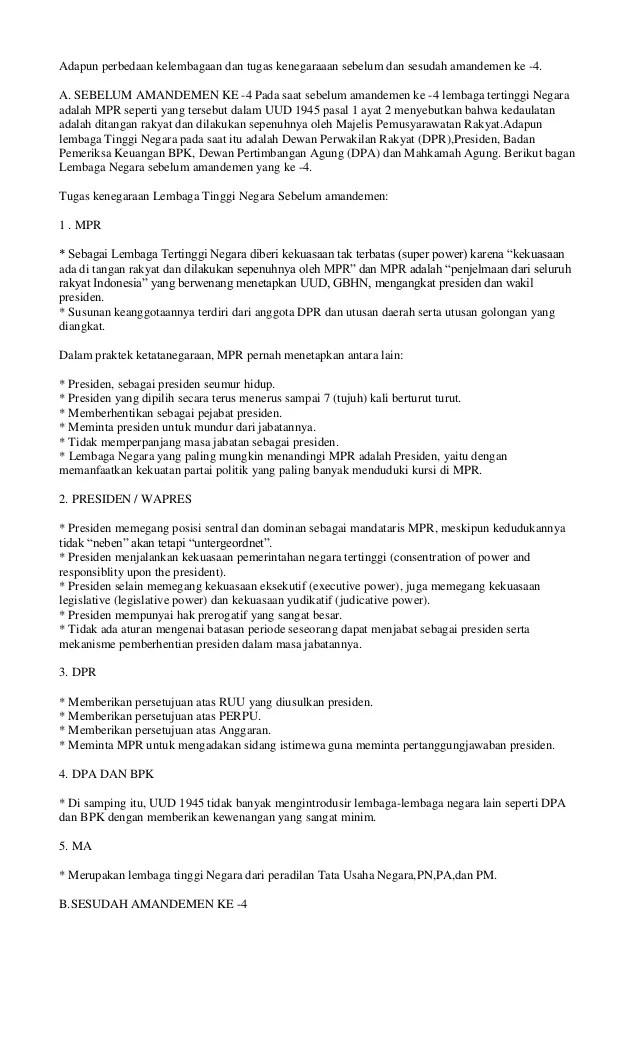 Tugas dan Wewenang MPR (Majelis...)   Edukasi PPKn