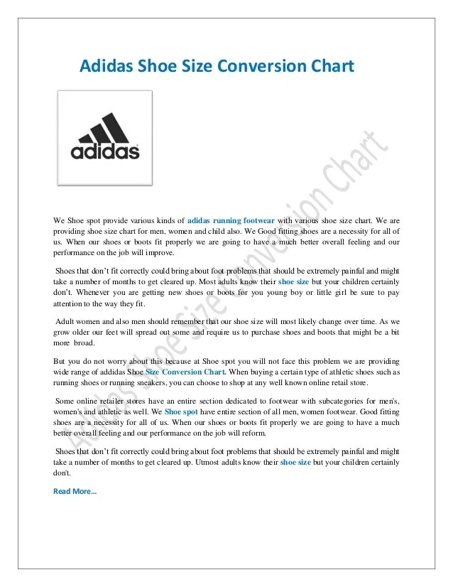 Womens Shoe Size Conversion To Mens Chart Adidas T Shirt Design 2018