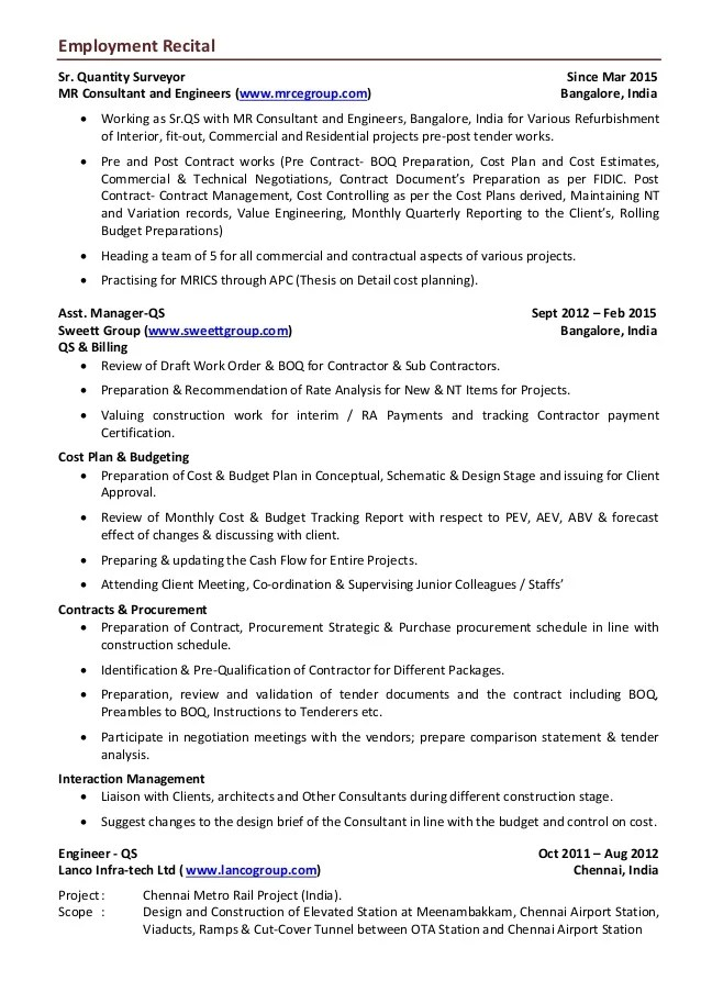 Cover Letter Sap Consultant