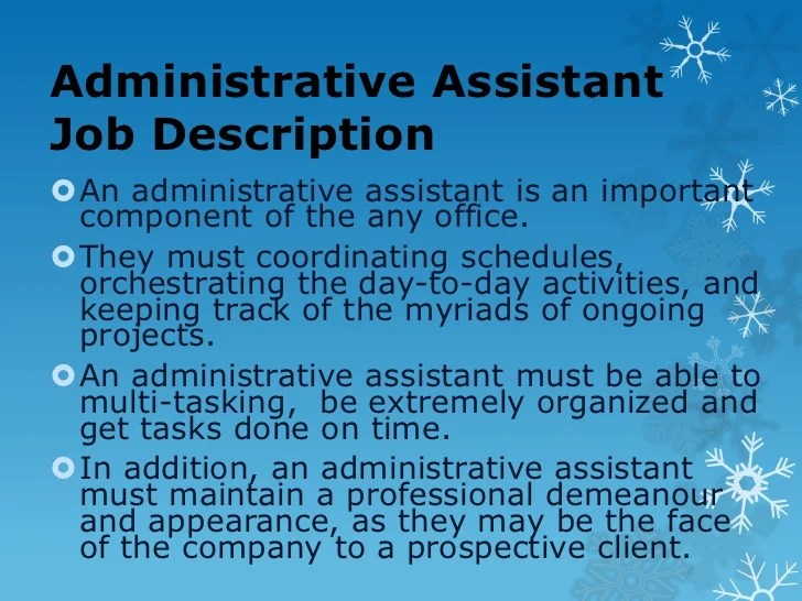 Administrative Assistant Tips