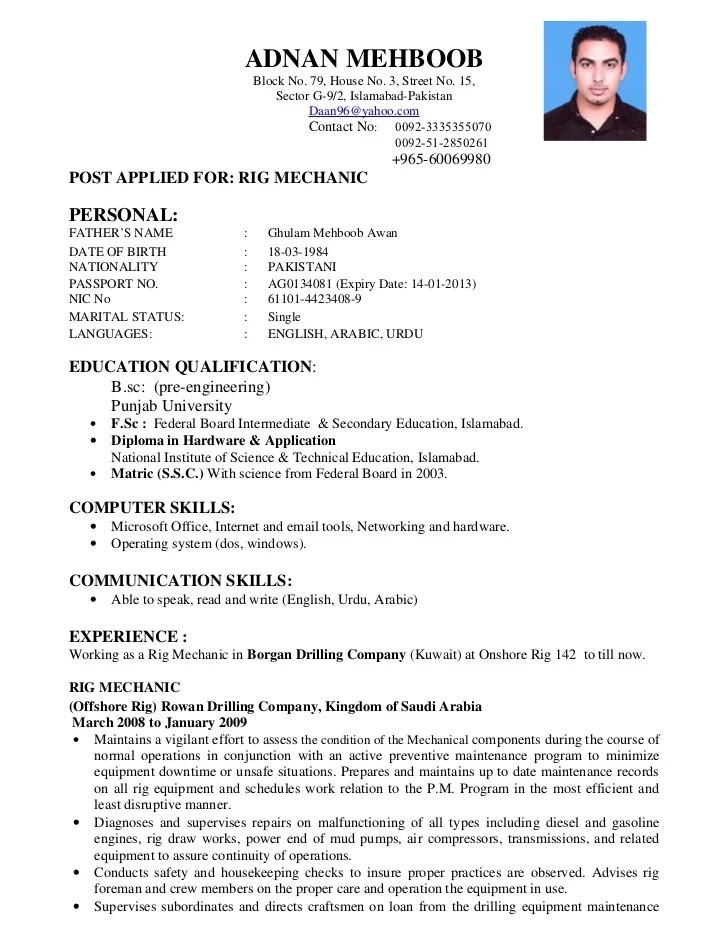 Regular Resume Format Standard Resume Templates To Impress Any