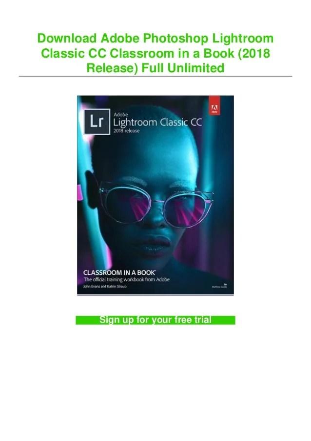 Lightroom Classic Cc 2018 : lightroom, classic, Download, Adobe, Photoshop, Lightroom, Classic, Classroom, (2…