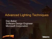 Advanced Lighting Techniques Dan Baker (Meltdown 2005)