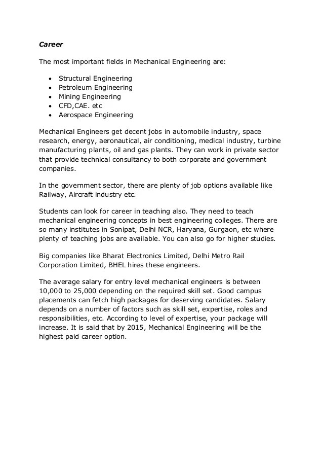 responsibilities of mechanical engineer - Tier.brianhenry.co