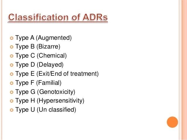 Adverse Reactions Penicillin