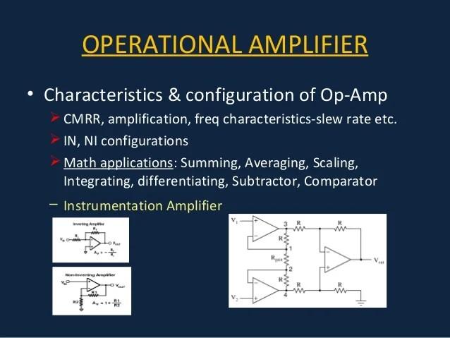Comparator Circuit Using Op Amp