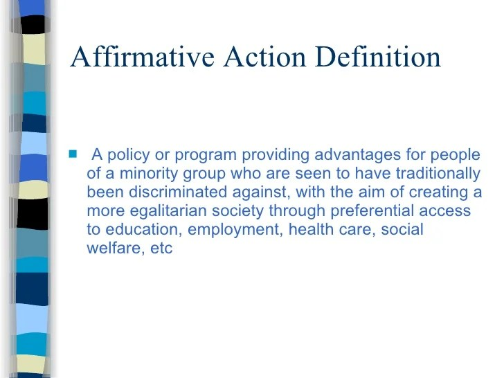 Affirmative Action Pros And Cons Essay Affirmative Action Pros And