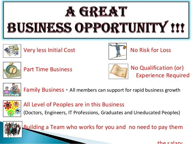 AMWAY A Great Business Opportunity
