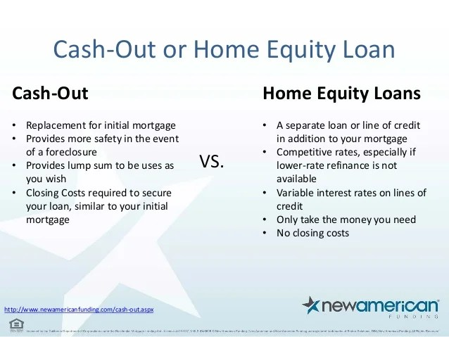 Some of the expenses are fixed such that similar fees are paid. A Guide to Cash-Out Refinancing