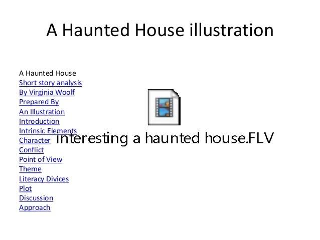 A Haunted House Analysis Virginia Woolf