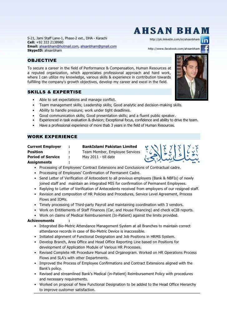 Hr Executive Resume Hr Hr Resume Examples 40 Hr Resume Cv