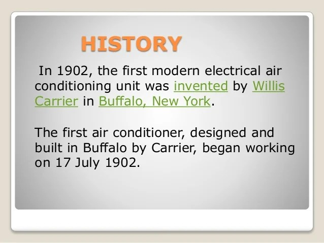 Air conditioningsystem ppt