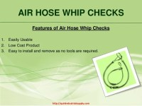 Superior Quality Air Hose Whip Checks