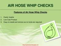 Superior Quality Air Hose Whip Checks| Quik Industrial Supply