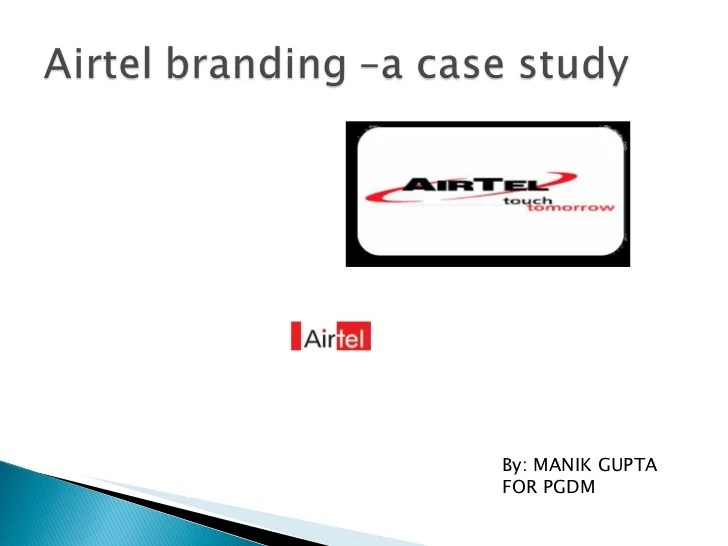 Case study mckinsey brand