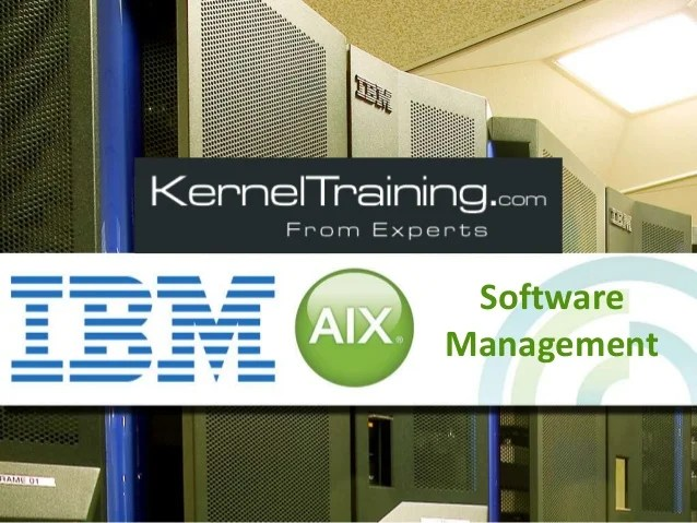Aix Admin Training