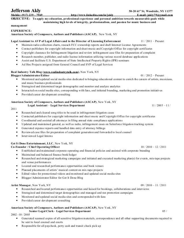 Resume For Mailroom Clerk  Resume Ideas