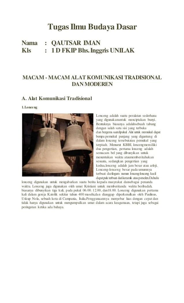 Alat Komunikasi Tradisional Adalah : komunikasi, tradisional, adalah, Komunikasi, Tradisional, Moderen